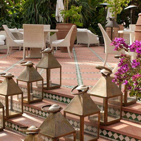 LA MAMOUNIA Marrakech - Maroc Jardin merveilleux #2